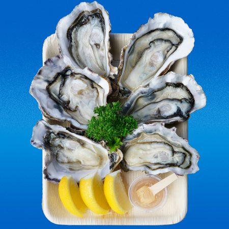 6 Oysters au Naturel