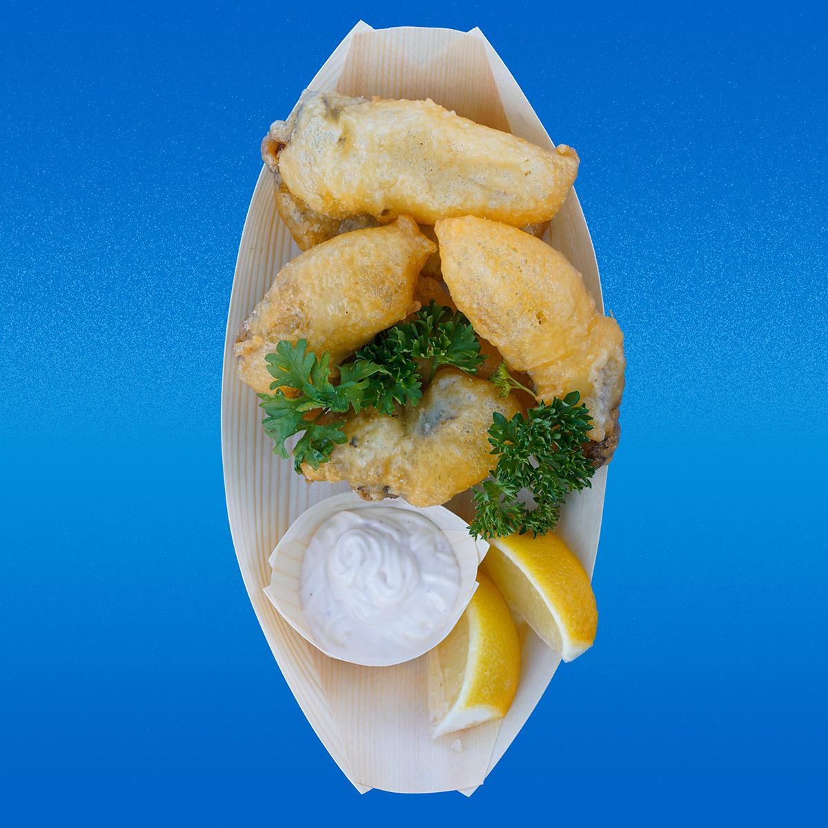 Oysters Tempura